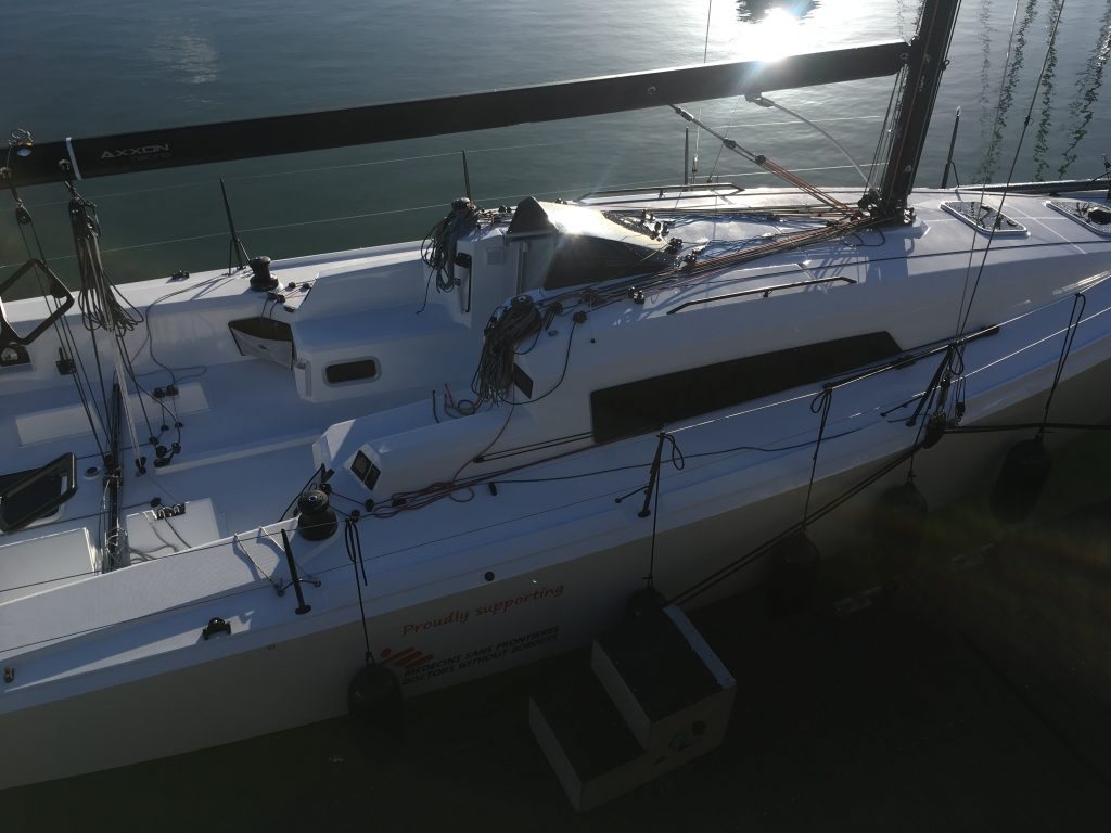 Sunfast 3600 Custom Rigging project